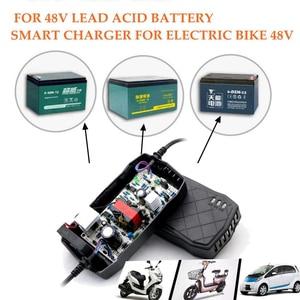 Eleltric велосипед Батарея Зарядное устройство 48 V свинцово-кислотный Батарея зарядки адаптер 48 V 40AH для велосипеда автомобиль скутер 48 V 40AH 50AH 60AH