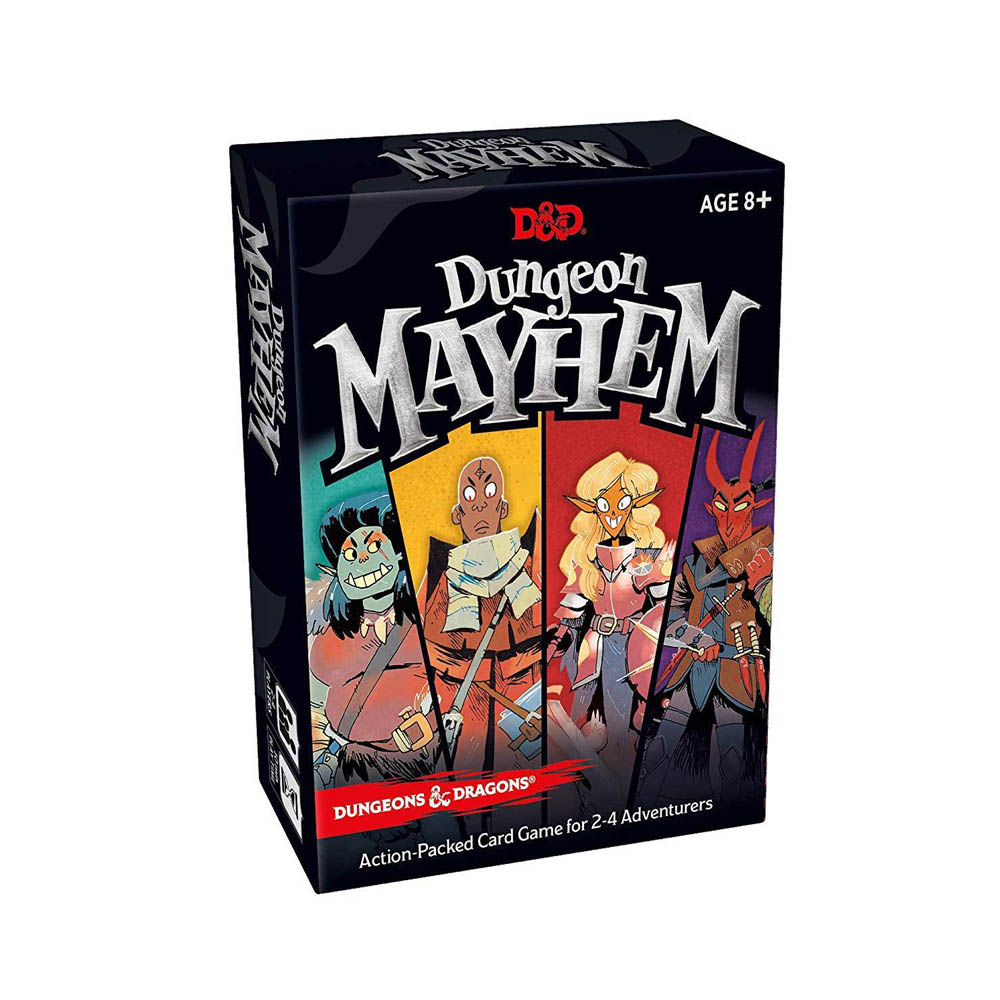 Dungeon Mayhem Board Game Dungeons Dragons Card Game Funny Party Game Family Friend Entertainment Playing Card Games