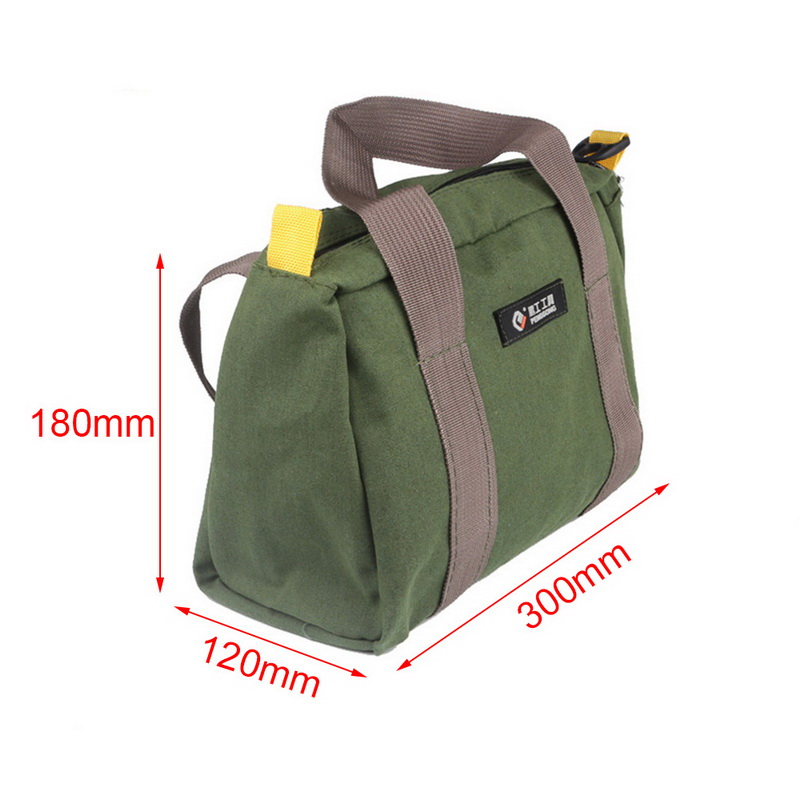 14/'/'-18/'/' Portable Canvas Waterproof Storage Hand Tool Metal Parts Bag Organizer