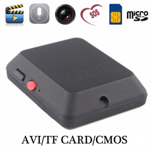 Mini GSM Tracker X009 with Camera Monitor Audio Video Record Real Time Tracking and Listening LBS Locator SOS Button