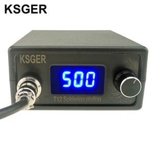 Image 1 - KSGER T12 STM32 Digital Soldering Station T12 Iron Tips Auto Sleep Boost Temperature Quick Heating 907 ABS Handle DIY Tools