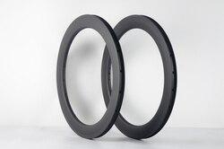 2 pièces nouveau 22 pouces petite roue vélo pliant mat 3K UD pleine fiber de carbone roues de vélo carbone pneu jantes 22er 451mm livraison gratuite