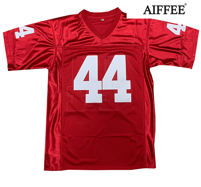 AIFFEE Football Jersey from Movie tv Hip Hop Shirts Tees t shirt Stitched Costume 44 42 13 33 45 Stitched Name and Number S-3XL 2