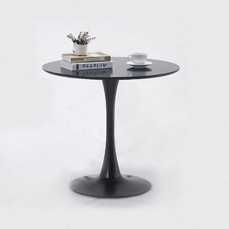 Negotiation Round Table Modern Minimalist Table Sales Office Hotel Club Reception Round Dining Kitchen Conference Minimalist