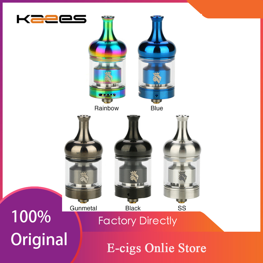 Original KAEES <font><b>Solomon</b></font> 3 <font><b>RTA</b></font> Tank 5.5ml Capacity Single/dual Coils Build Top Airflow Ecig Vape Atomizer Tank VS KAEES <font><b>Solomon</b></font> <font><b>2</b></font> image