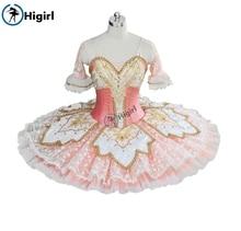 Peach Fairy professional ballet tutu pink adult Performance Tutu pancake costumes Nutracker  BT9039