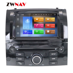 Image 3 - Android 10 DSP IPS HD Screen For Peugeot 407 2004 2005 2006 2007 2008 2009 2010 Car GPS Navi Radio Screen android Display Black