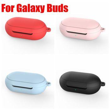 სილიკონის დამცავი კორპუსი Samsung Galaxy Buds + Bluetooth ყურსასმენის კორპუსი Galaxy Buds Plus- ის ცოცხალი დატენვის ყუთის აქსესუარებისთვის