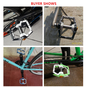 Image 5 - Bike Pedals MTB BMX Sealed Bearing Bicycle CNC Product Alloy Road Mountain SPD Cleats Ultralight Pedal Cycle Cycling Accessories