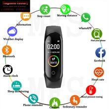 2019 M4  SmartWatch Heart Rate Monitor Blood Pressure Sport Bracelet Waterproof Fitness Tracker Activity Tracker Smart Watch