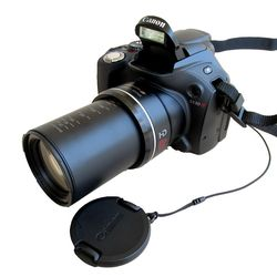 USED Canon SX30IS 14.1MP Digital Camera with 35x Wide Angle Optical Image Stabilized Zoom and 2.7 Inch Wide LCD
