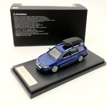1:64 Scale For Passat R36 Travel Edition Diecast Model Car Toys Gifts Collection Blue