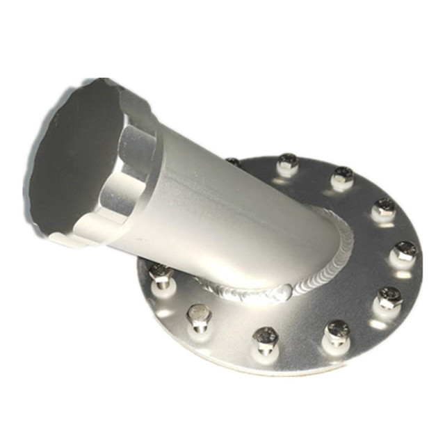 SPSLD Automobile Parts Modified to 14cm Aluminum 45 Degree Inclined Explosion proof Tank Cover General Fuel Cap