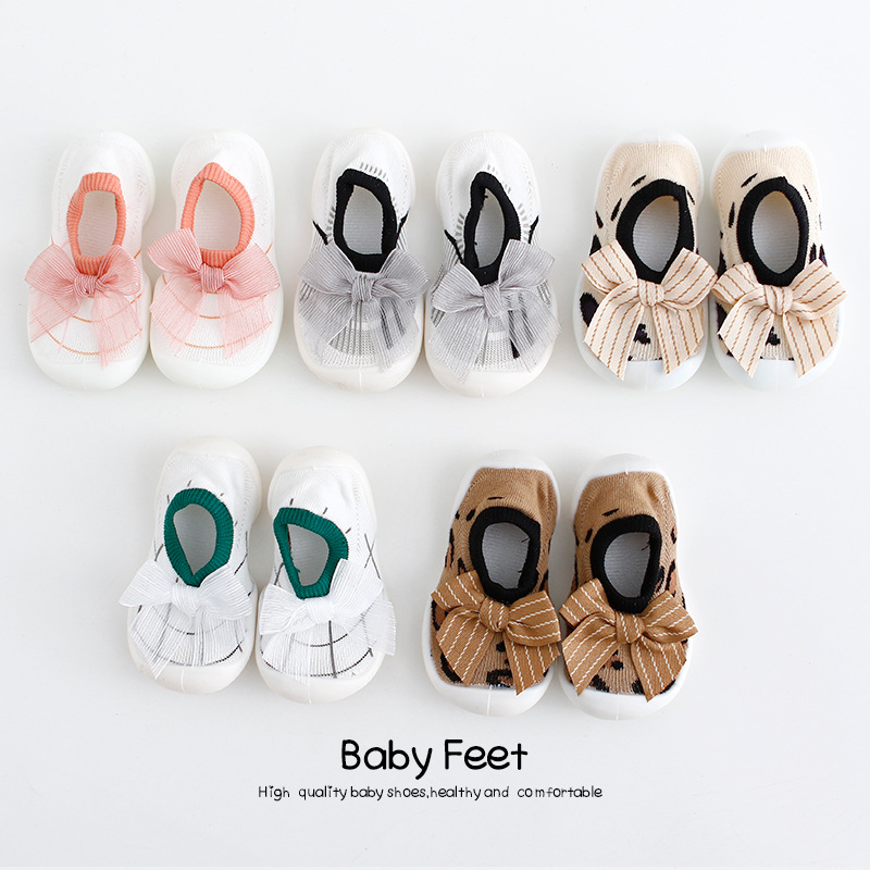 Soft Sole Princess Baby Girls Canvas Bow First Walkers Shoes Fashion Summer Prewalkers First Walker Toddler  Baby Girl Shoes
