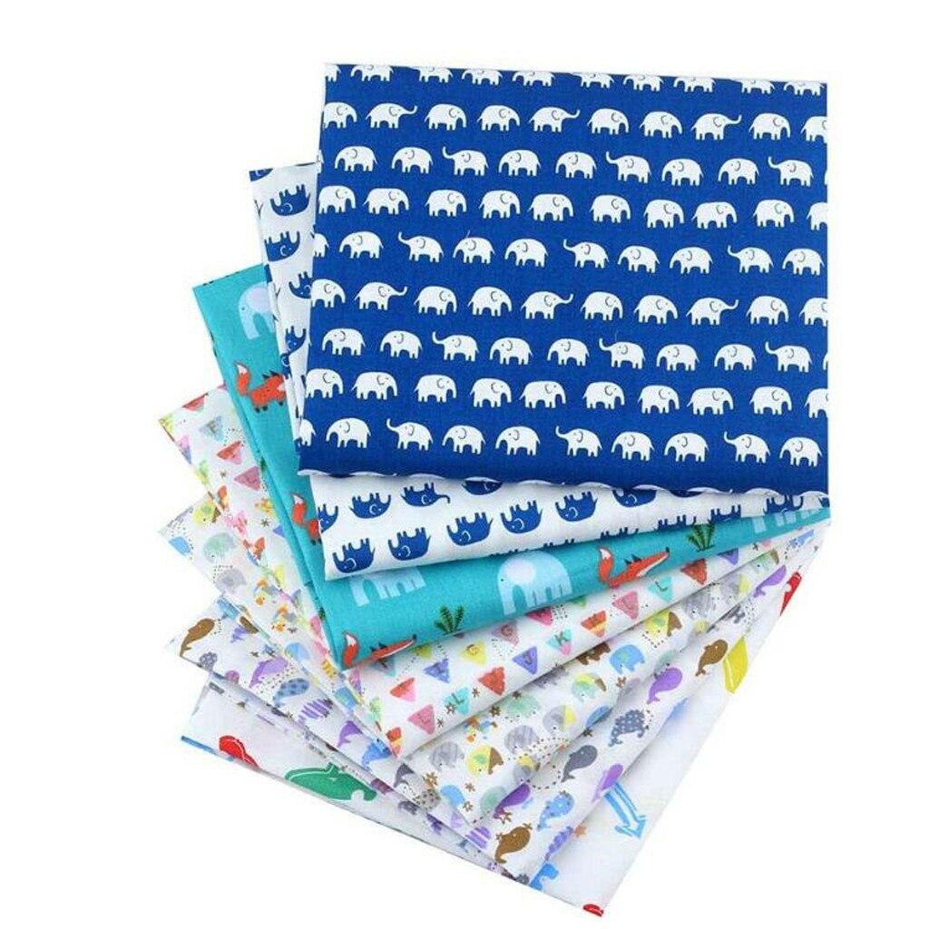 7 Pieces Booksew Flowers Suit Cotton Fabric Fat Quarter Bundle Telas Patchwork Quilting Tilda Fabric Sets Sewing #T1G
