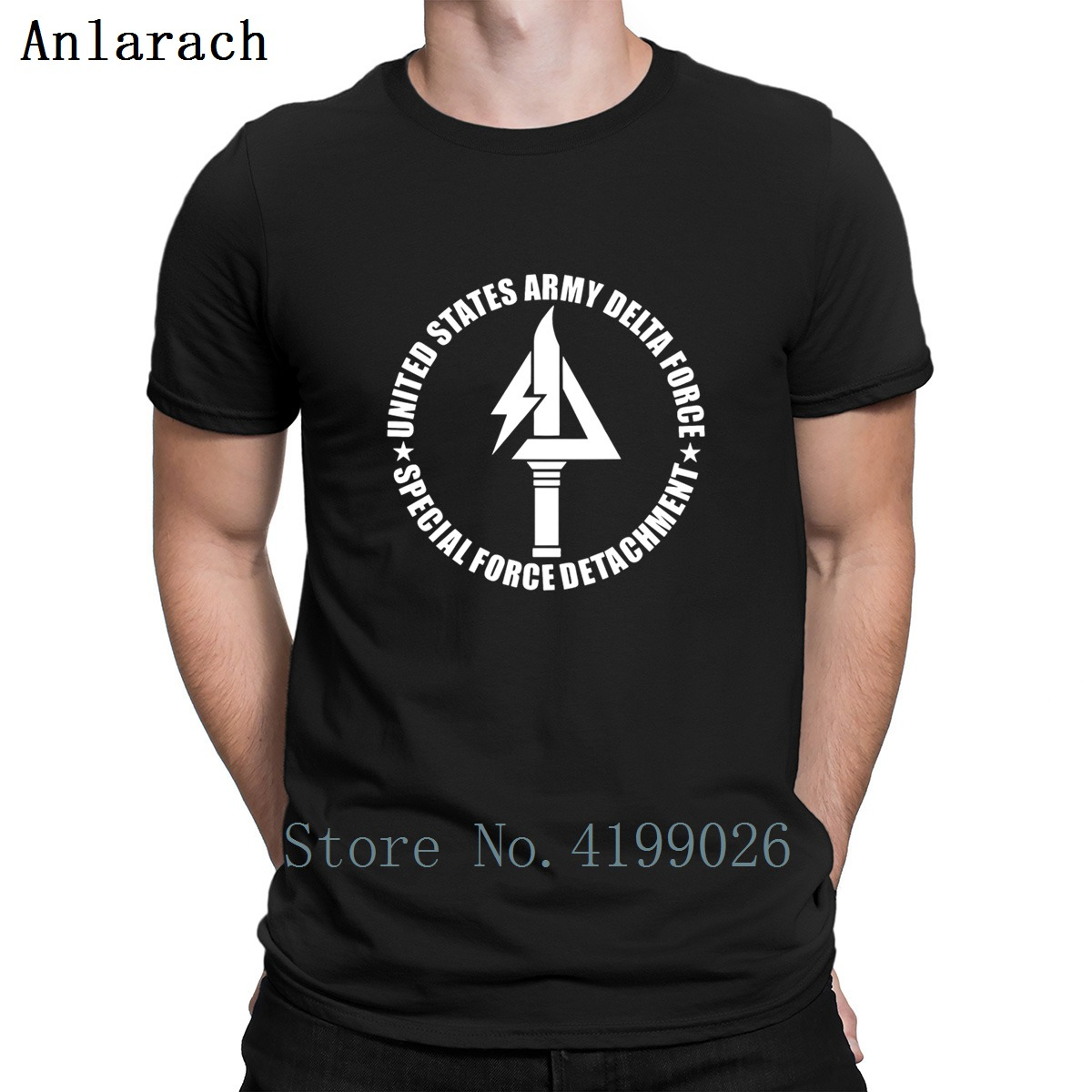 Us Army Deltas Force Tshirts Better Humorous Male Spring Autumn Men s Tshirt Outfit Create O