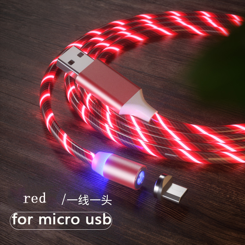 red for micro usb