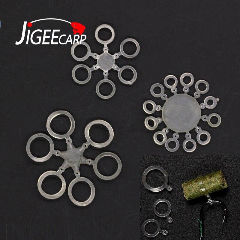 60pcs Plastic Bait Screws Pegs For Pop Up Bollies Baits Carp Tackle 3 Colors