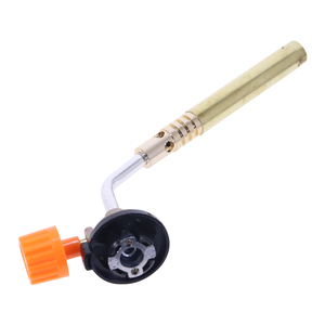 Image 2 - شعلة غاز للبيوتان ، شعلة غاز للحام والتخييم في الخارج ، مشعل غاز نحاسي للحام ، بندقية حرارية لمعدات اللحام
