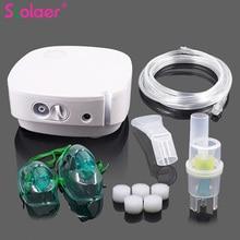 1 セットミニポータブル空気compresser噴霧吸入器薬キットミニホーム大人子供蒸し装置、医療機器