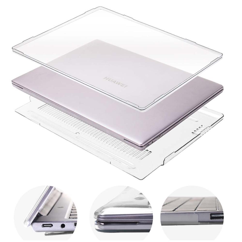 KK&LL For HUAWEI MateBook X Pro 2019 13.9 / MateBook 13 14  - Crystal Hard PC Shell Laptop Anti-Scratch Case Cover