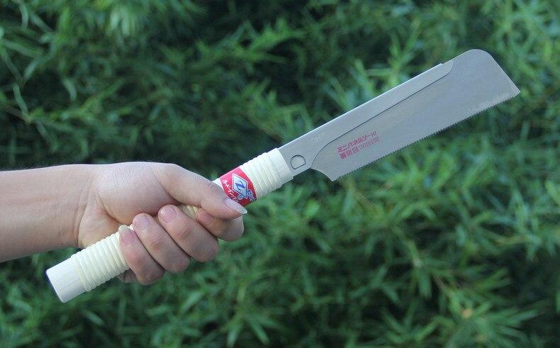Nouveau 1 pièces scie japonaise originale z-saw scie à trois vitesses scie à bois rapide fabriquée au japon H-150