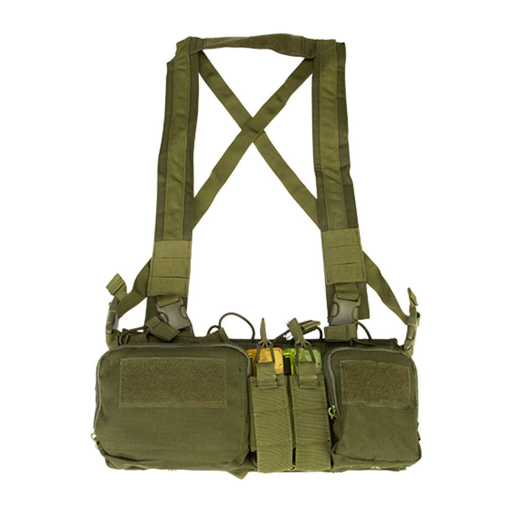 CS Match Wargame TMC Airsoft เสื้อกั๊กยุทธวิธีทหารเสื้อกั๊ก chest RIG Pack กระเป๋าเสื้อกั๊กยุทธวิธีระบบ MOLLE เอว Pack