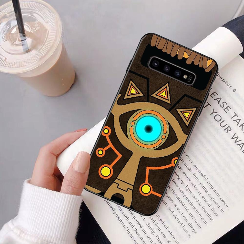 The Legend of Zelda Respiro del Selvaggio Sheikah Slate Cassa Del Telefono per Samsung S9plus S5 S6 bordo più S7 bordo S8 più S10E S10 più