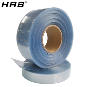 1M Transparent PVC Heat Shrink Tube Shrinkable Film RC Parts For Lipo Battery 35mm 50mm 62mm 72mm 82mm 90mm 120 110mm Insulation(China)