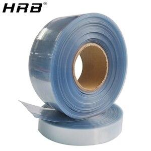 1M przezroczysty PVC rurka termokurczliwa folia termokurczliwa części do zdalnego sterowania bateria Lipo 35mm 50mm 62mm 72mm 82mm 90mm 120 110mm izolacja