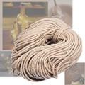 Сизальные веревки 4 мм, 5 мм, 6 мм x 100 м, джутовая веревка, натуральный пеньковый шнур, декор для кошек, домашних животных, царапин, декор для дом...