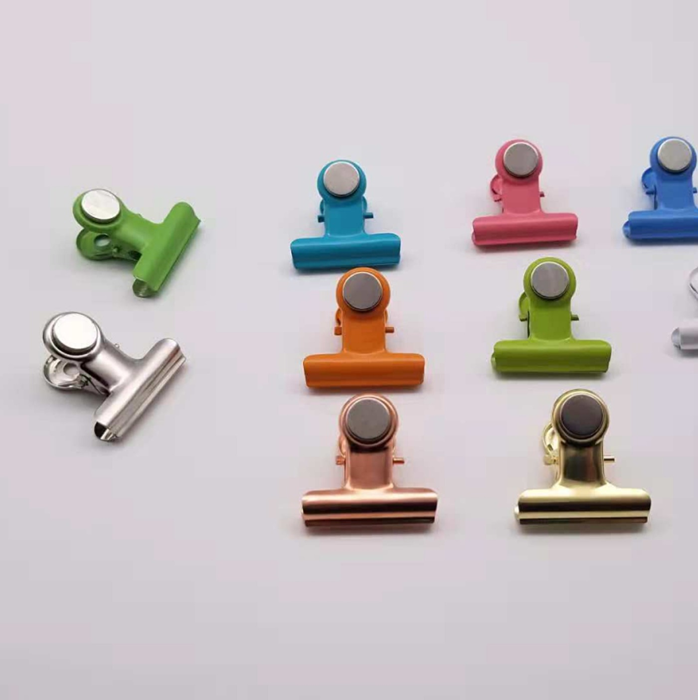 Zhi You New Style Color ND Iron Strong Type Ci Li Jia Color Strong Magnetic Refrigerator Clip Metal Magnetic Clips Can Be Set
