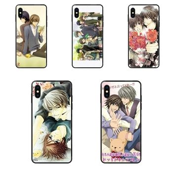 Junjou Romantica Tv Series For Xiaomi Mi Note A1 A2 A3 5 5s 6 8 9 10 SE Lite Pro Ultra Closeout Black Soft TPU Phone Cover Case image