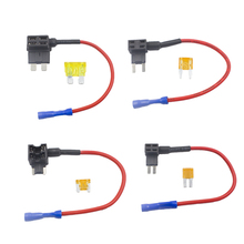 KALILI Add-a-circuit Fuse Holder Micro/Mini/Low-profile mini/Standard ATM APM Blade Tap Dual adapter Auto Car with holder
