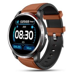 Смарт-часы для мужчин ЭКГ монитор сердечного ритма Смарт-Браслет фитнес-трекер для занятий спортом IP67 водонепроницаемые умные часы для Android...