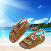 Zapatos de verano para niños y niñas, zapatilla para niñas, sandalias informales acogedoras para niños, sandalias para la escuela, 2021
