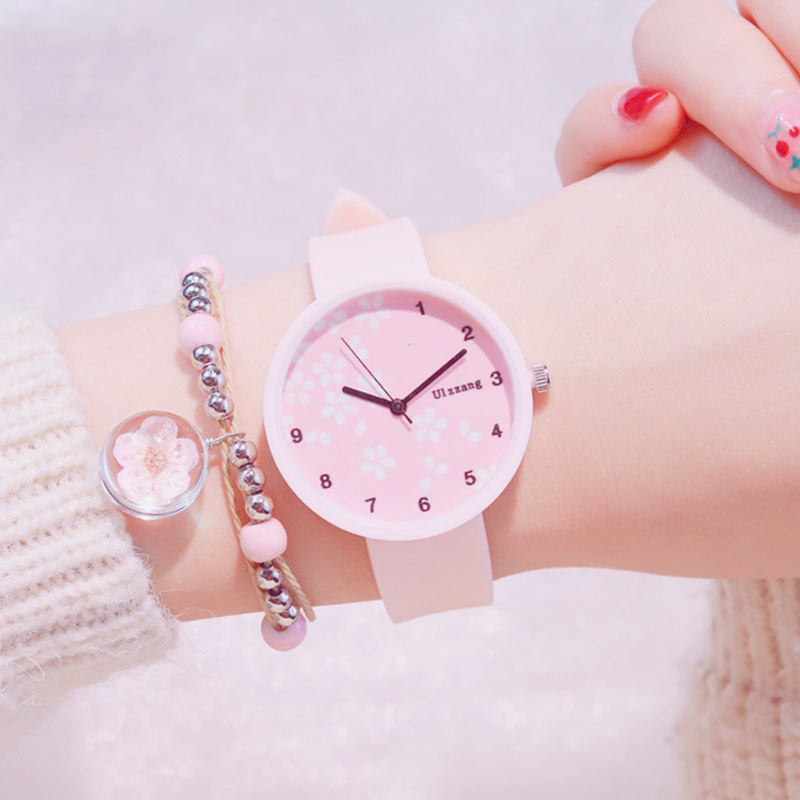 Fashion Kids Watch Lovely Colorful Dial Design Children Watches Casual Creative Silicone Strap Cute Girls Clock Gift