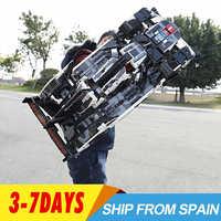 Cada lepinblocks 42110 20086 bugatti chiron modelo c61016 técnica racing 42083 42056 42110 bloco de construção tijolos brinquedos