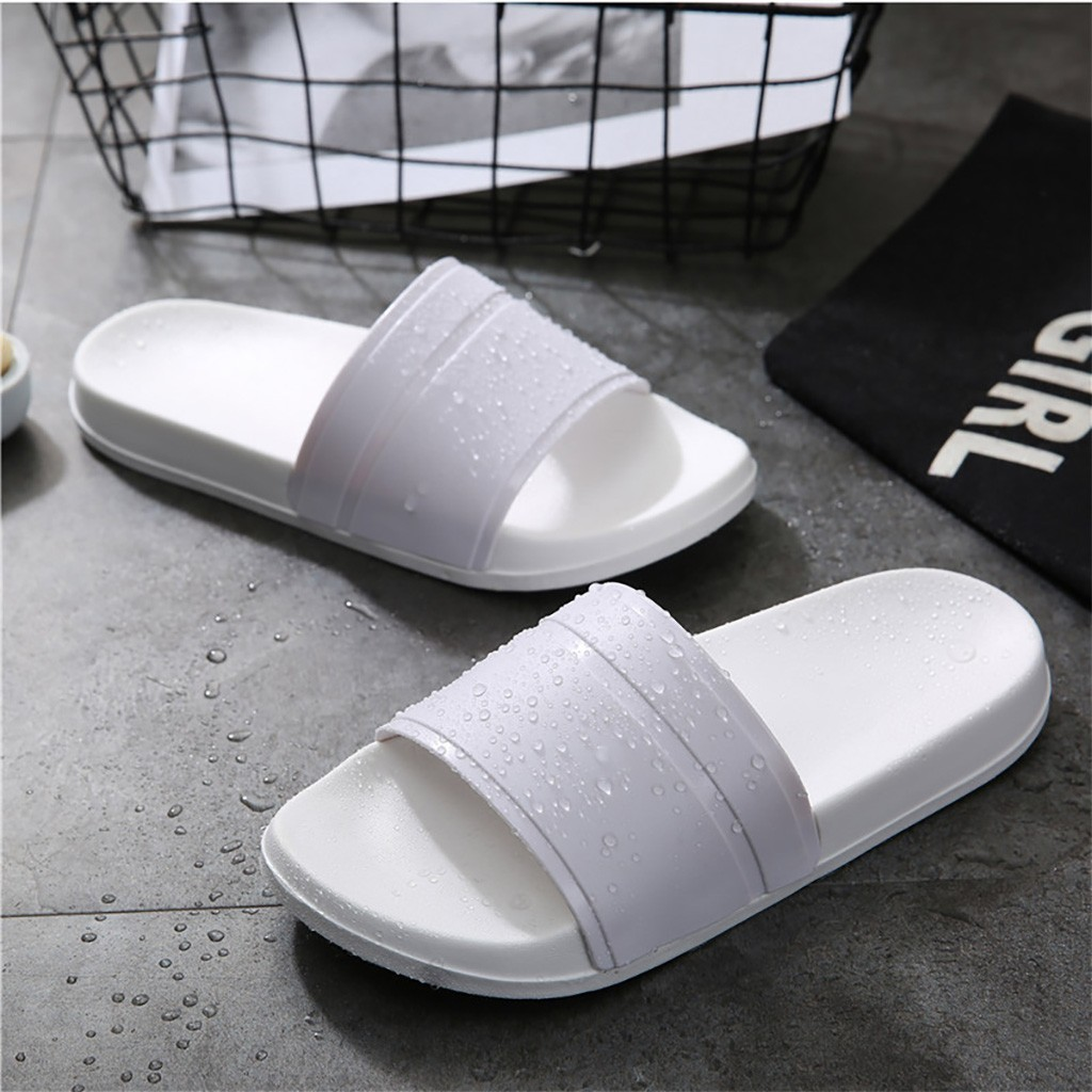 New Bathroom Rubber Slippers For Women Summer Beach Shower Home Casual Shoes Female Indoor Bath Slipper Open Toe House Footwear