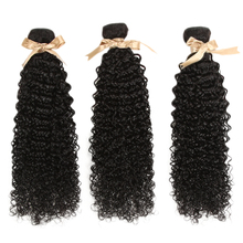 Debut Malaysian Human Hair weave bundles Kinky Curl 30 Inch Bundles  Nature Color Extensions 3/4