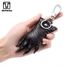 Genuine Leather Crocodile Paw Decoration Bag's Ornament key rings for specail sale