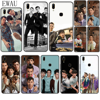 EWAU Jonas Brothers Silicone phone case for VIVO Y11 Y53 Y55s Y81s V5 V7 V9 V11 V15 pro Y17 Y69 Y71 Y91 Y93 image