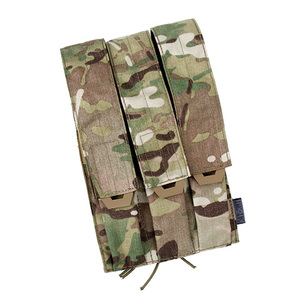 TMC тактическая Тройная сумка для журналов, Kriss Vector MOLLE Mag Carrier SMG Mag камуфляжная Военная Molle Бесплатная доставка