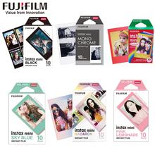10 sheets Fujifilm instax mini 11 9 film Color Edge 3 Inch wide film for Instant Camera mini 8 7s 25 90 Photo paper cheap Single Use Camera NONE JP(Origin) Film Sets