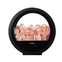 ABKT Ufawo U3 Wireless Bt Speaker+Crystal Salt Rock Lamp Sound Box Night Light Usb Bedside Table Decorative Lamp Music Loudspeak