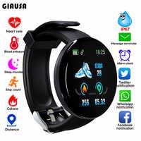 Nouveau Bluetooth montre intelligente hommes pression artérielle ronde Smartwatch femmes montre étanche Sport Tracker WhatsApp pour Android Ios