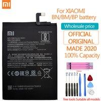 Batteria di ricambio originale Xiao Mi per Xiaomi Mi A3 Redmi Note Max 2 3 4 4X 4A 5 5A 5s 5X 6 6A 7 8 9T K20 Pro Plus batterie