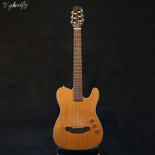 good quality thin body cutway electric classic guitar silent classic guitar