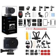 AKASO V50 Pro SE, специальный выпуск, Экшн-камера, сенсорный экран, 4 K, водонепроницаемая камера, WiFi, пульт дистанционного управления, Спортивная камера