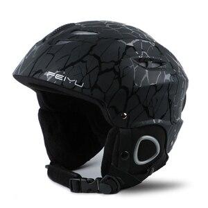 Image 1 - ACEXPNM 2019 Ski Helmet Integrally molded Snowboard Helmet Men Women Skating Skateboard Skiing Helmet Snowboard For Safety